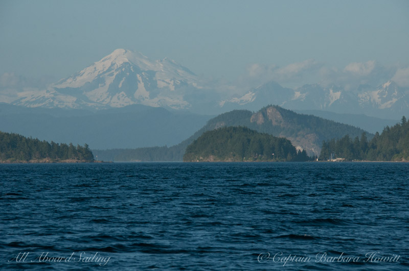 Mt Baker and Obstruction Pass