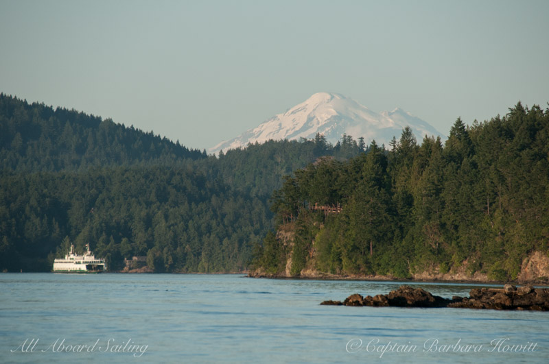 Ferry and Mt Baker