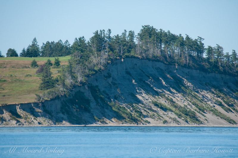 James Island shoreline