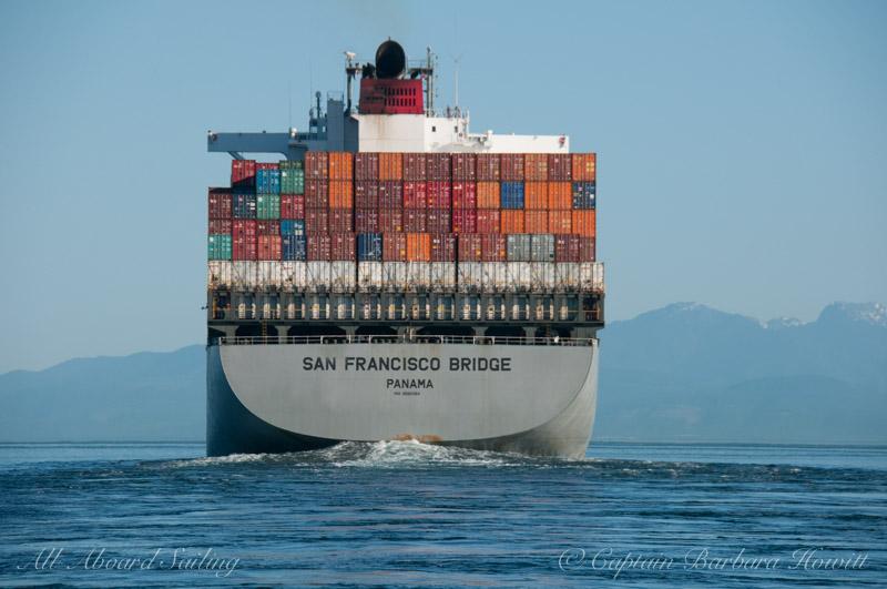 Cargo ship Haro Strait