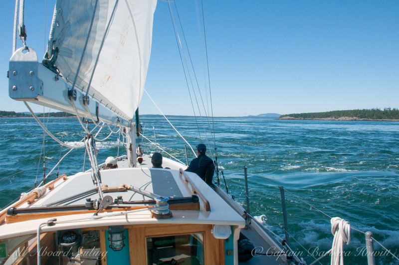 Sailing in strong currents