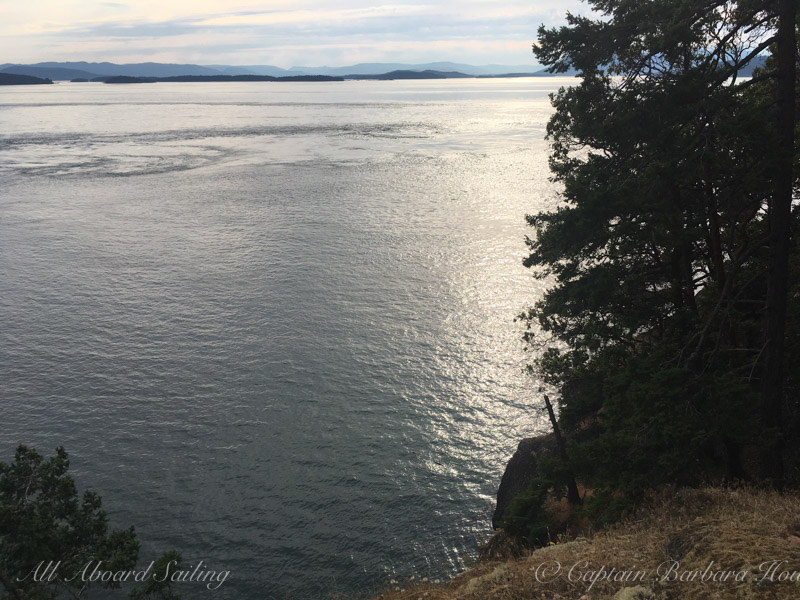 View atop Stuart Island