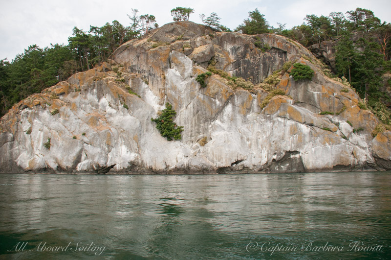 Lovers Leap, Stuart Island