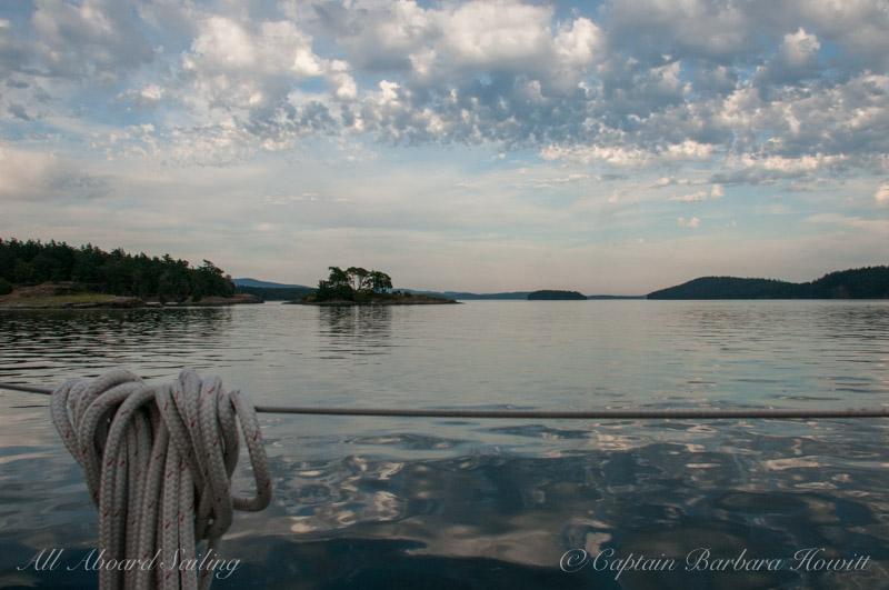 Stillness in Reid Harbor
