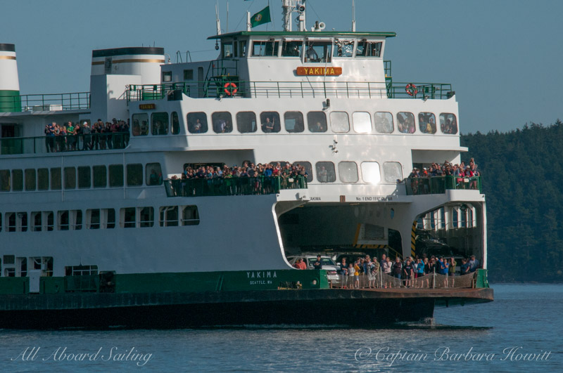 Wa state ferry whale watching — with Washington State Ferries.