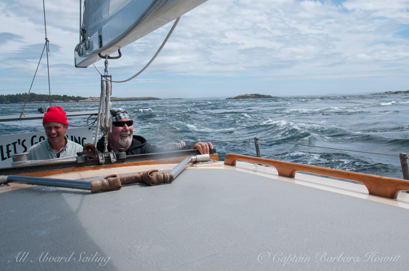 Sailing in wild seas
