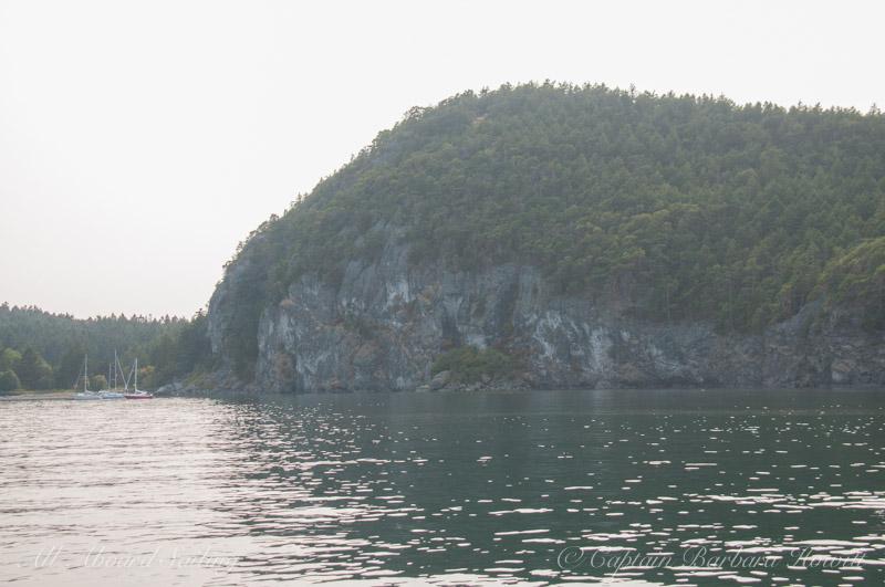 Inside of Lopez Sound