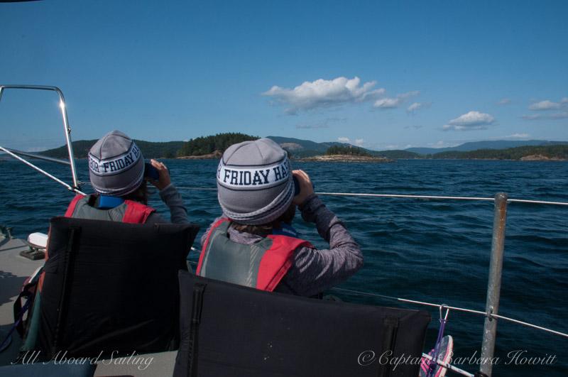 Sailing North in the San Juan Islands