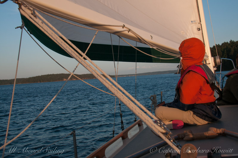 Sailing San Juan Channel