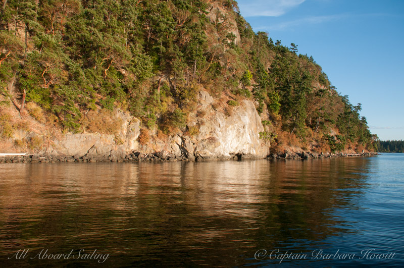 Upright Channel, Lopez Island