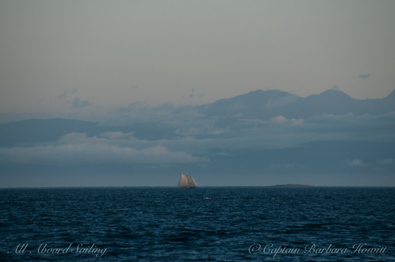 Schooner sailing San Juan Channel