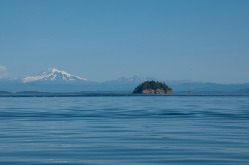 Skipjack Island National Wildlife Refuge in the San Juans and Mount Baker