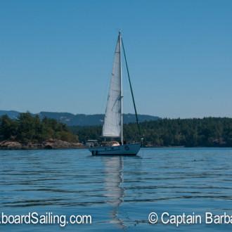 Short sail to Yellow Island