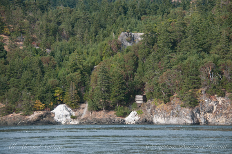 The old Lime Kilns of Lime Kiln Point