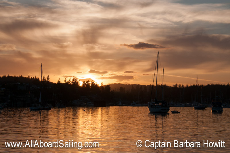 Sunset Friday Harbor