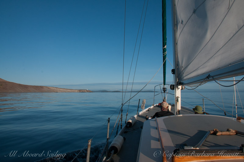 Sailing the West side of San Juan Island
