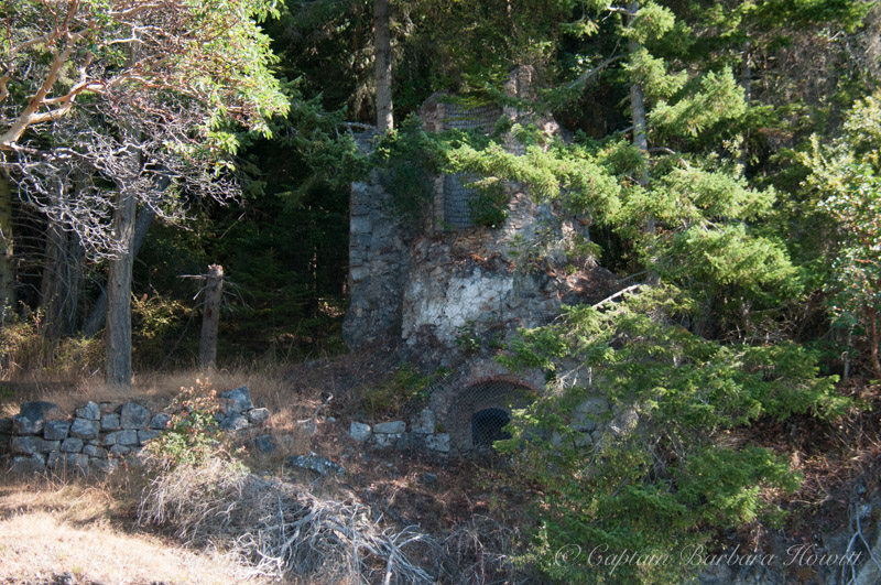 Ruins of an old Lime Kiln on Orcas Island